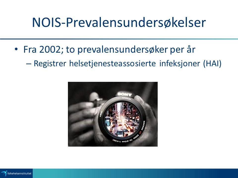 Infeksjonsprevalens i norske sykehjem 2002-2014 uvi: urinveisinfeksjon Forklaringer:hud: hudinfeksjonnlvi: nedre luftveisinfeksjonsi: infeksjon i operasjonsområde