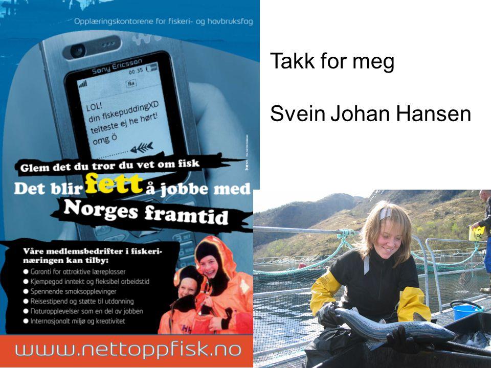 Karl Kristian Storøy og Nick H Skorpen har starta med eigne båtar. Vi har utdanna: 40 styrmenn 80 maskinistar 260 lærlingar. 20 i akvakultur 180 i fis