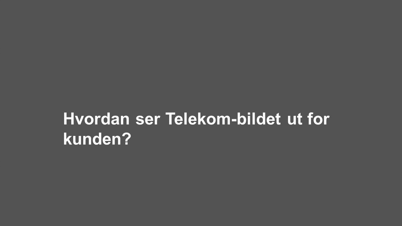 Hvordan ser Telekom-bildet ut for kunden