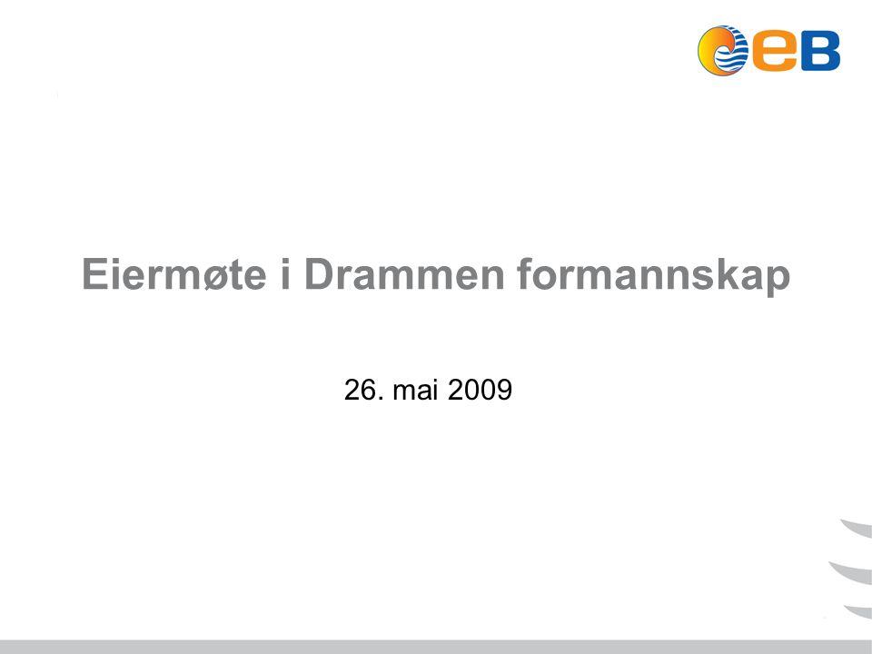Eiermøte i Drammen formannskap 26. mai 2009