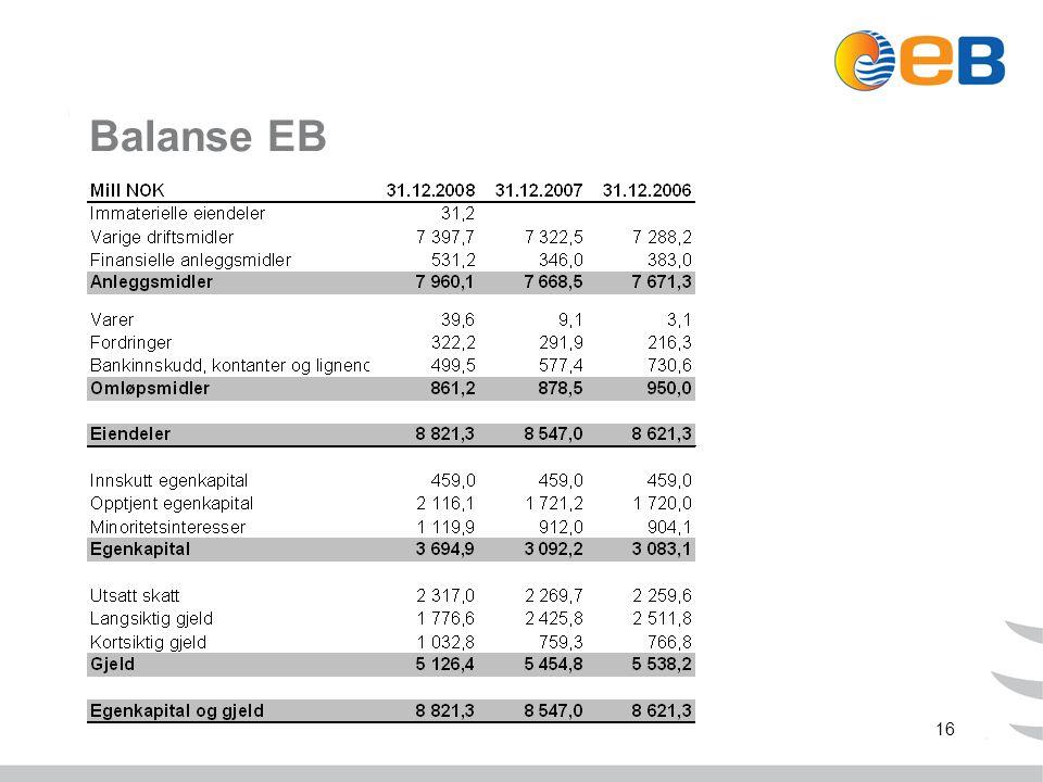 16 Balanse EB