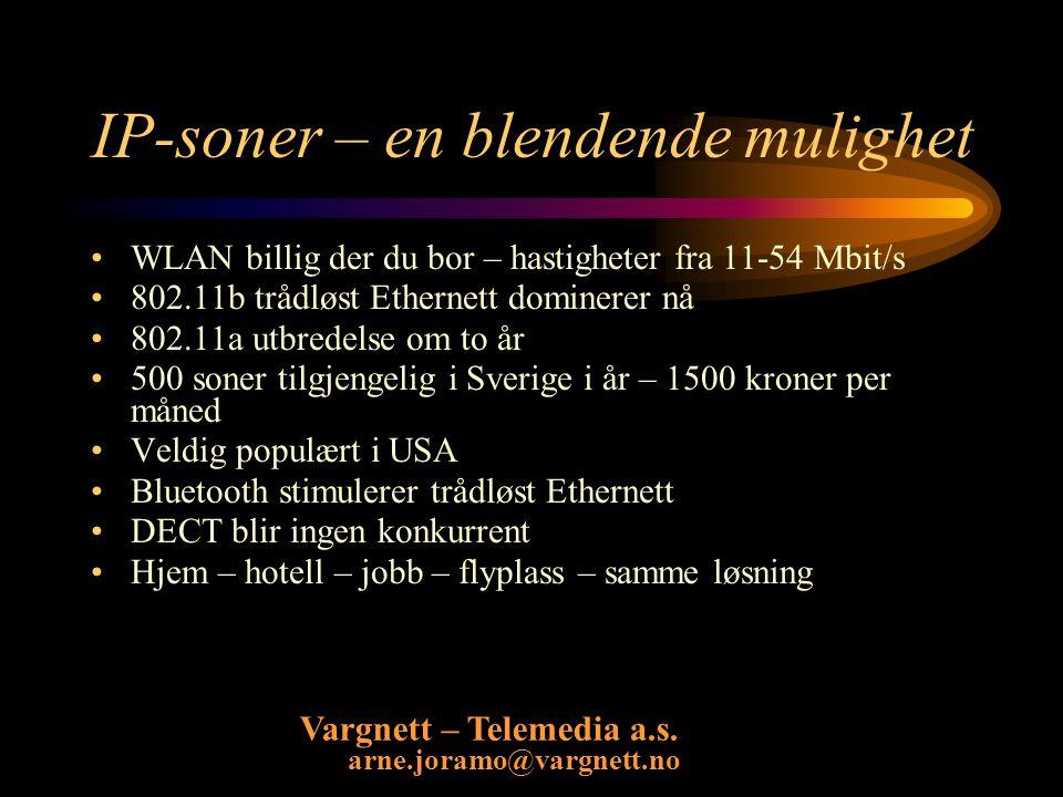 Vargnett – Telemedia a.s.arne.joramo@vargnett.no Nytt telemagasin Nytt månedlig telemagasin 24.