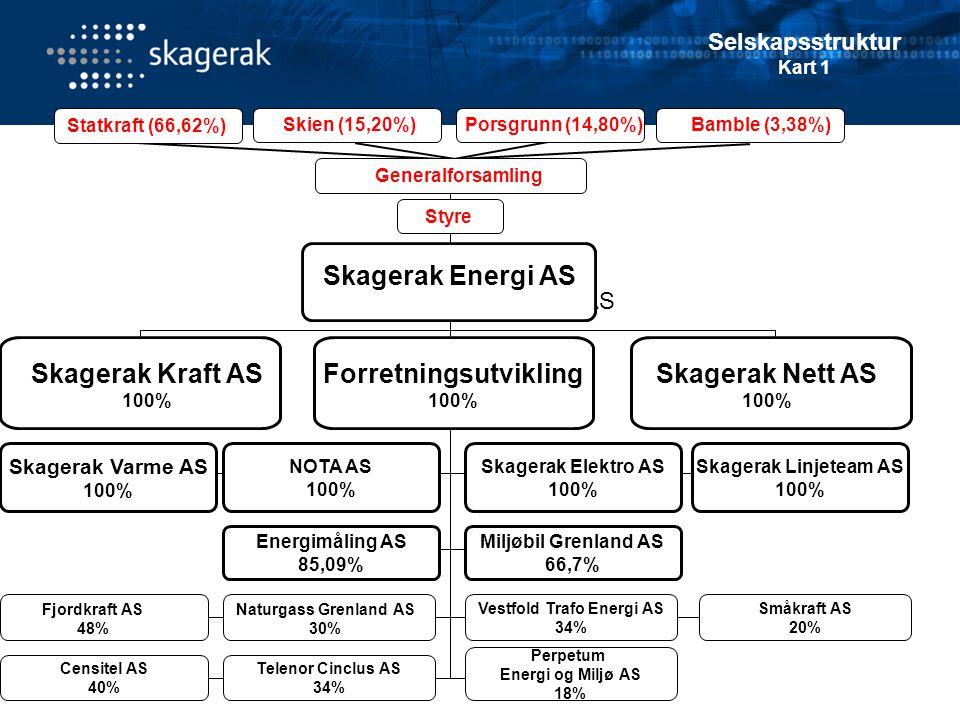 Heleid av datterselskap av Skagerak Energi.2 ansatte.