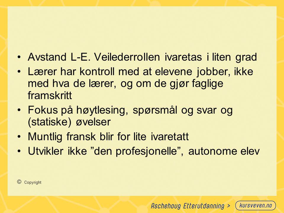 Lars Vavik: En snarvei til læring Hva blir viktig å holde fast ved når vi vet at IKT både kan virke positivt og negativt på læring.