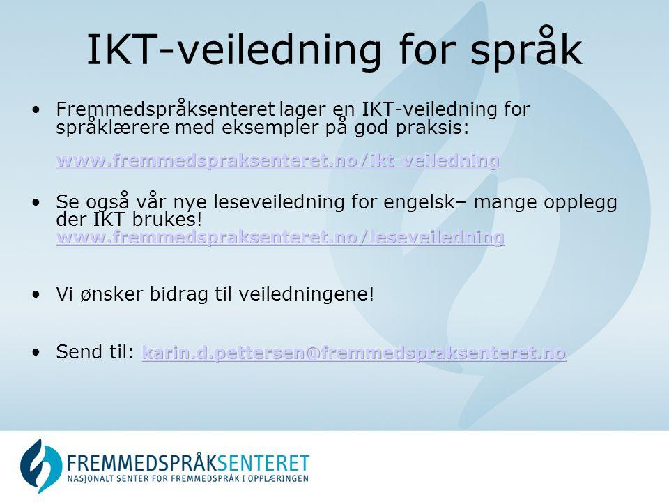 IKT-veiledning for språk
