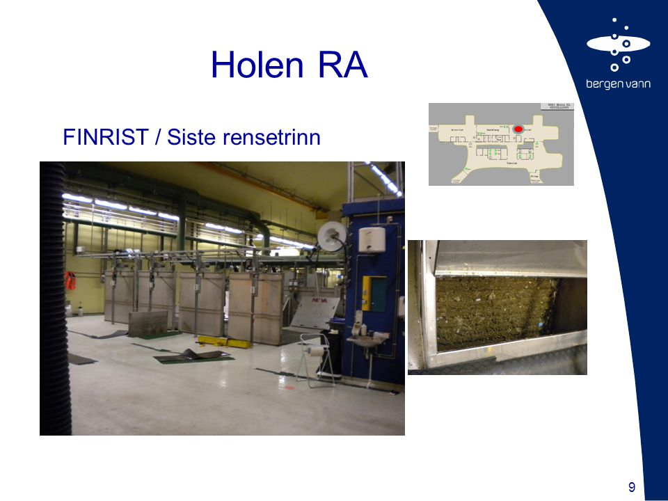 9 FINRIST / Siste rensetrinn Holen RA