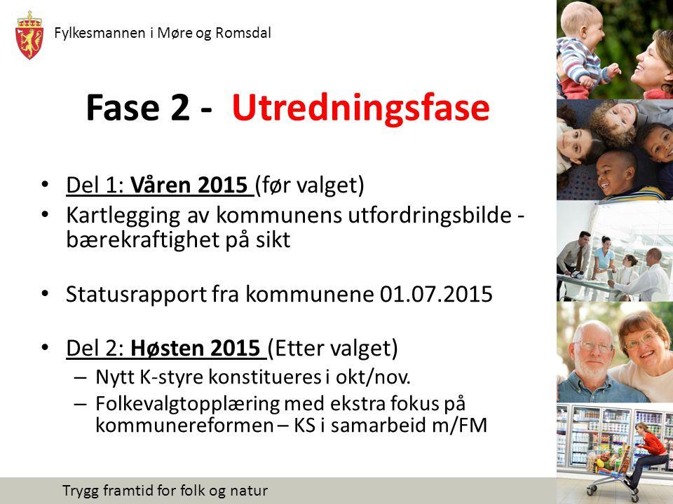 Fylkesmannen i Møre og Romsdal Trygg framtid for folk og natur Fase 3 - Beslutningsfase I løpet av 1.