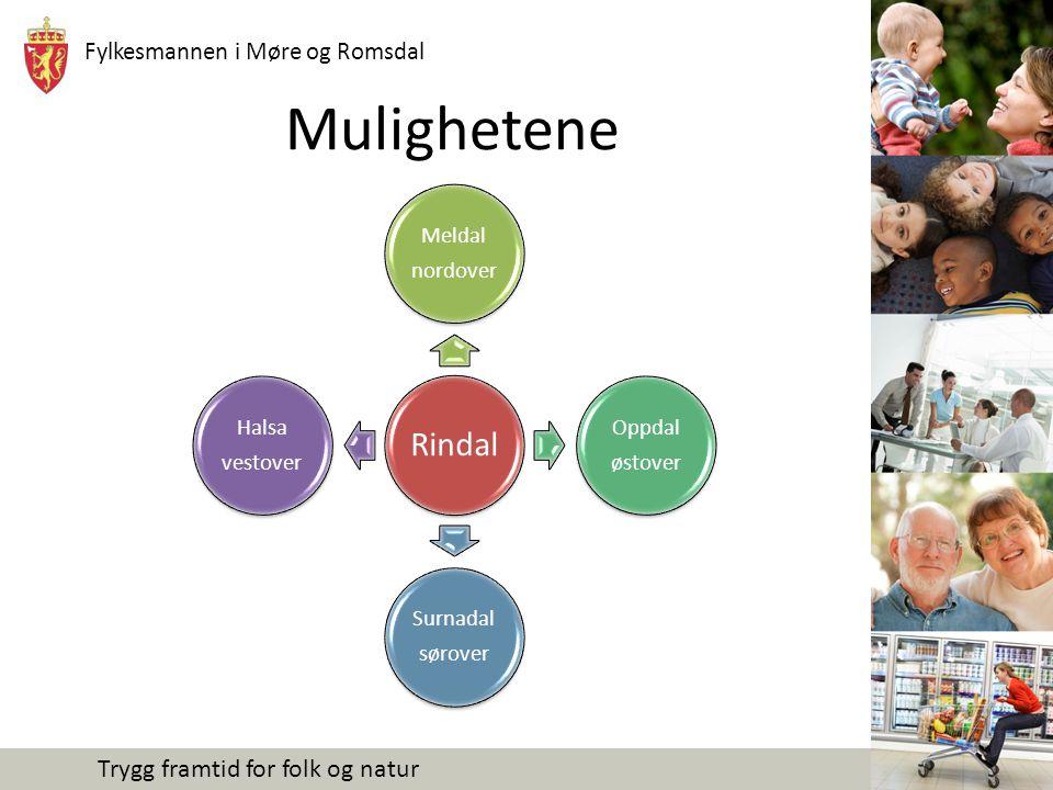 Fylkesmannen i Møre og Romsdal Trygg framtid for folk og natur Mye kan skje i løpet av året Innbygger- undersøkelse Faktainnhenting/ Utfordringsbilde Kommunevalg – nye politikere Prosesser pågår i alle kommuner