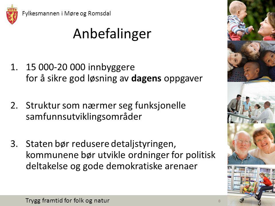 Fylkesmannen i Møre og Romsdal Trygg framtid for folk og natur Oppdragsbrev av 03.07.14 fra Kommunal- og mod.dept.