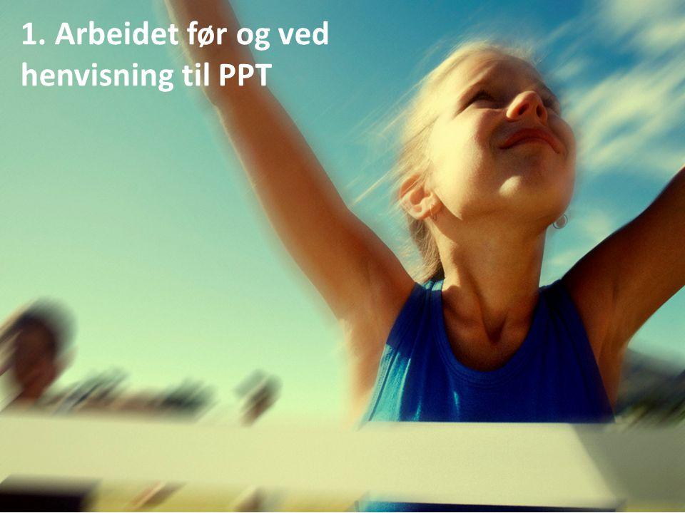 Del 1: Arbeidet ved skolen før henvisning til PPT Julie Ek Holst-Jæger v/Bærum PPT 1. Arbeidet før og ved henvisning til PPT