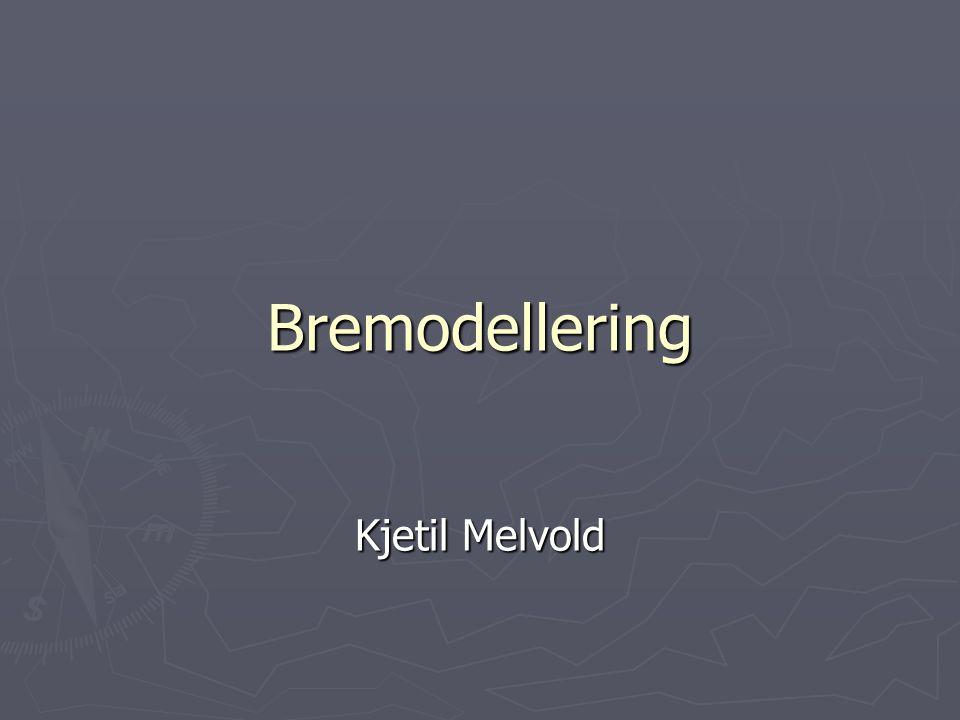 Vår modell Vår modell estimerer driving stress litt anderleds da man har tatt hensyn til longitudinal spenningsgradienter basert på teori av Kamb and Echelmeyer (1986).