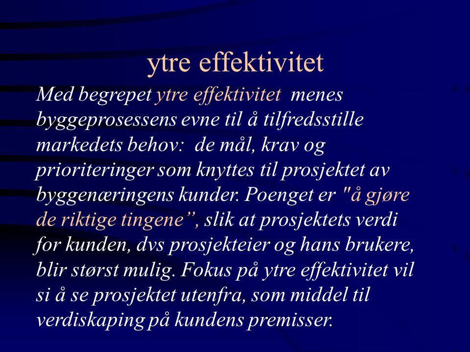 INSTITUSJONER: NOEN SENTRALE LOVER, FORSKRIFTER, STANDARDER LOVER, FORSKRIFTER: PLAN- OG BYGNINGSLOVEN MED FORSKRIFTER ARBEIDSMILJØLOVEN MED FORSKRIFTER FORURENSNINGSLOVEN REFSA (NY LOV MED FORSKRIFTER NOU 1997:21) KONTRAHERINGS- OG KONTRAKTSTANDARDER NS 3400 ANBUDSBESTEMMELSER NS 3430 ENTREPRISEKONTRAKTER NS 3431 TOTALENTREPRISER NS 3403 PROSJEKTERINGSAVTALER (UNDER REVISJON) KVALITETSSTANDARDER NS-ISO 8402/ 9000/ 9001/9002/ 9003