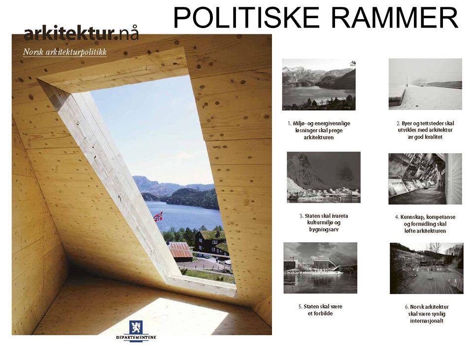 POLITISKE RAMMER