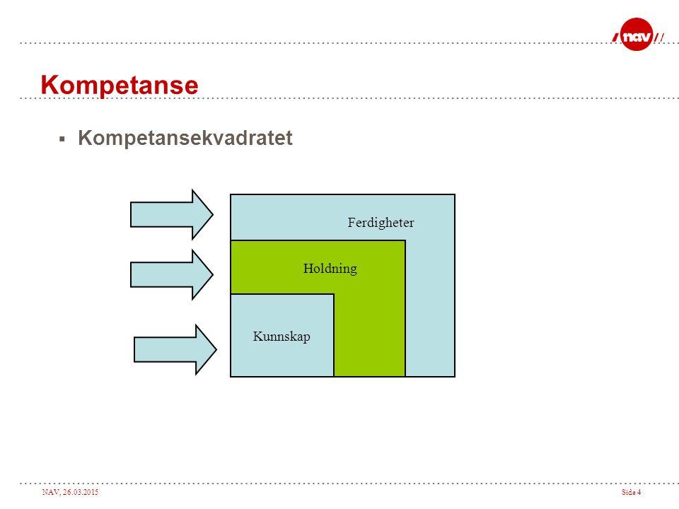 NAV, 26.03.2015Side 5 Grunnleggende prinsipper  Frivillighet.