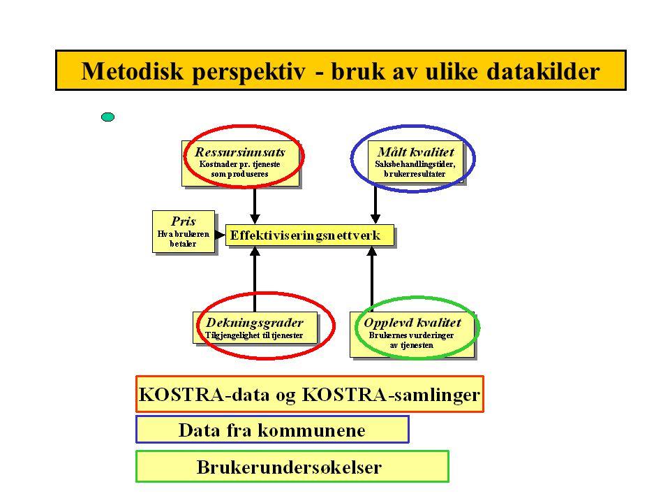 Metodisk perspektiv - bruk av ulike datakilder