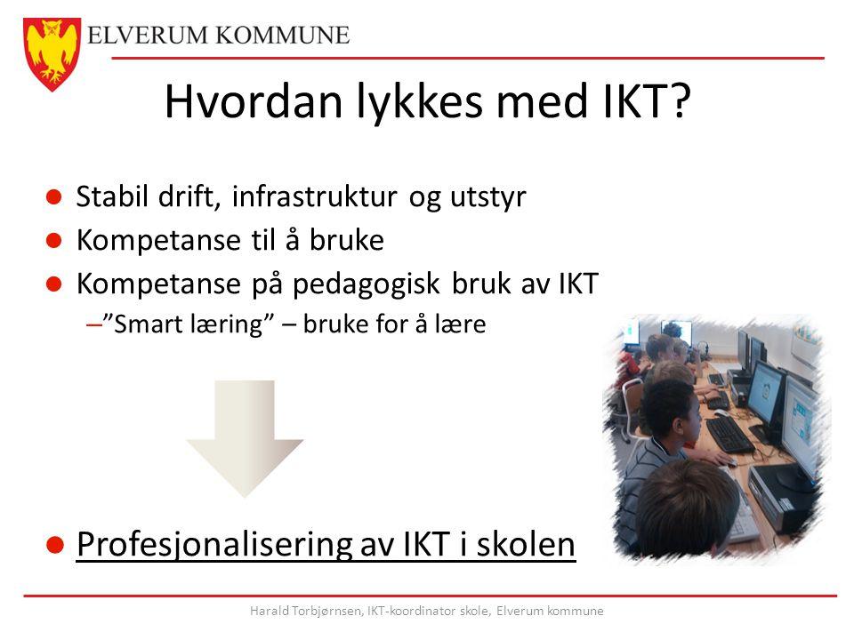 Hvordan lykkes med IKT.