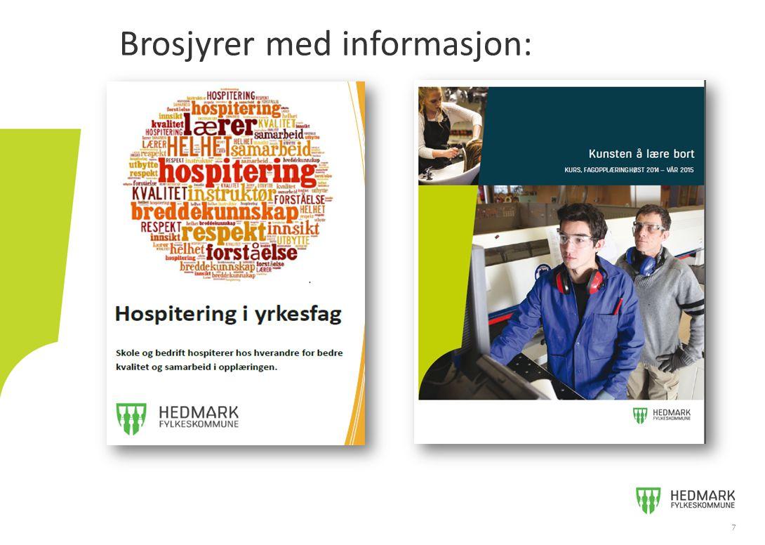 Informasjon: www.hedmark.orgwww.hedmark.org 8