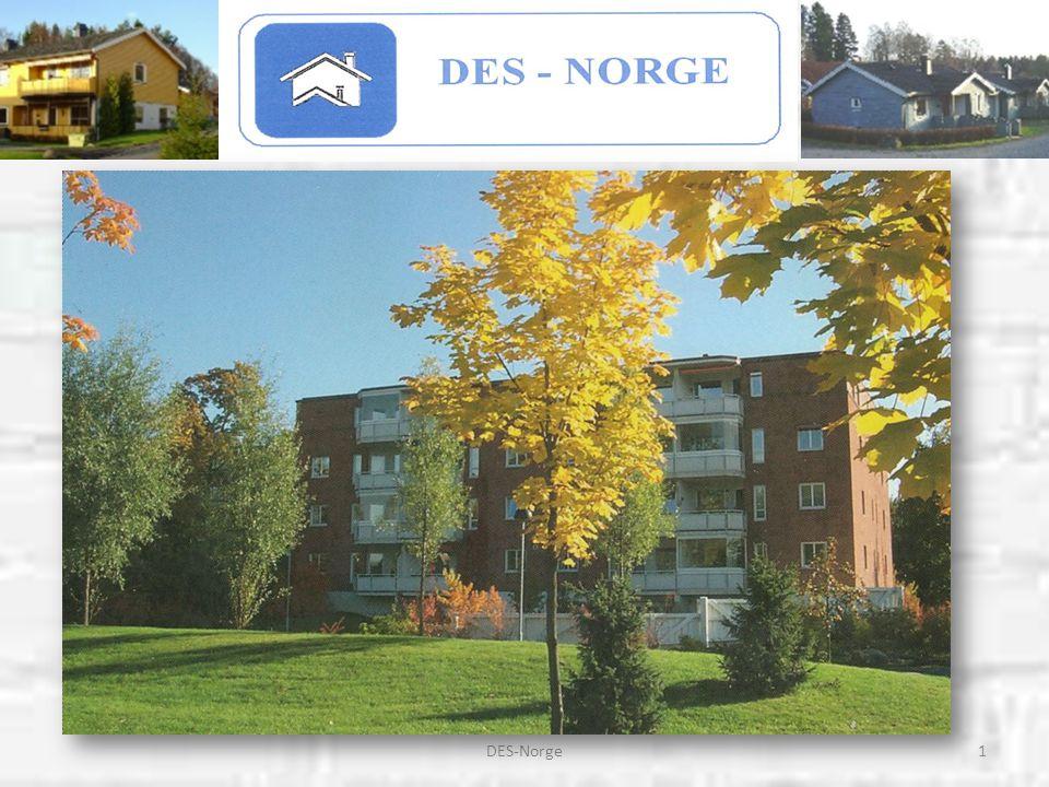 12DES-Norge * En DES-bolig betyr lettstelte, trygge og sentralt beliggende boliger, hvor en kan klare seg lengst mulig ved egen hjelp.