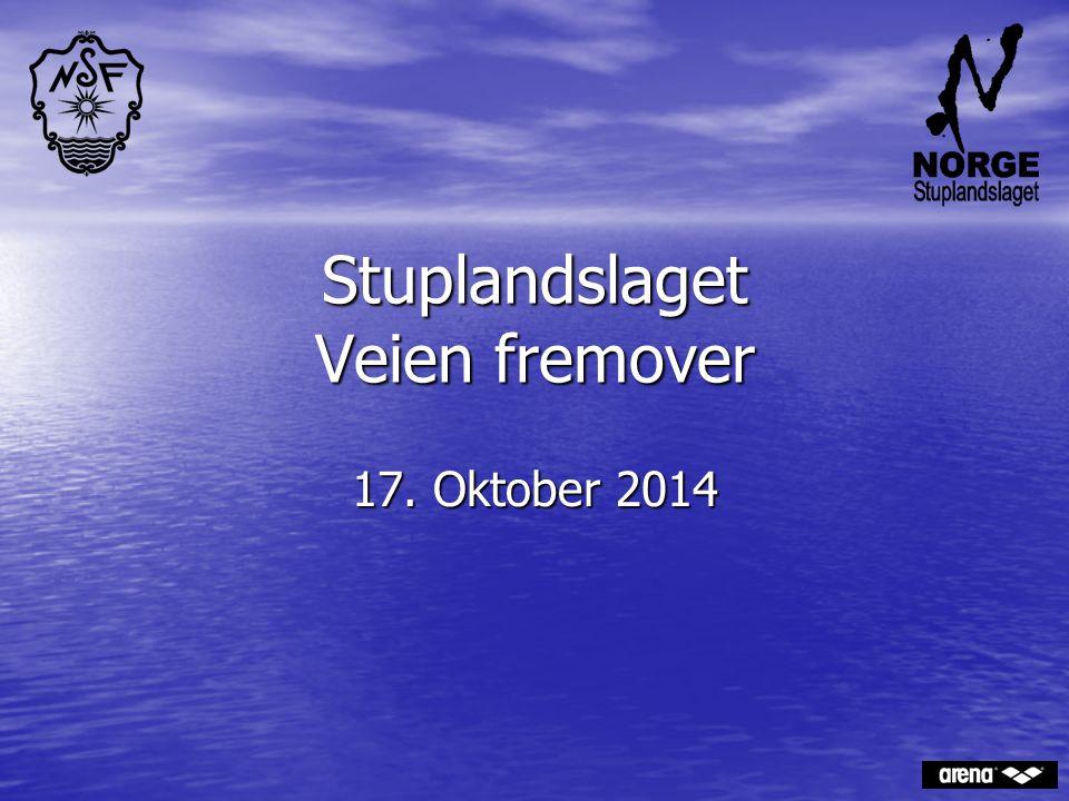 Stuplandslaget Veien fremover 17. Oktober 2014
