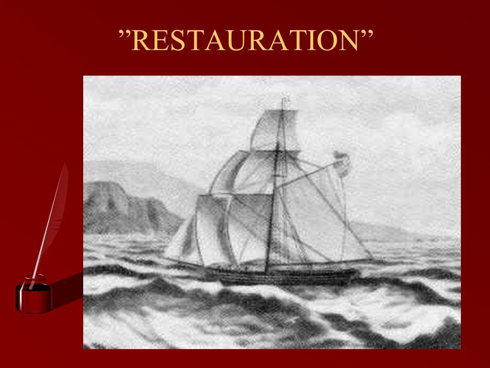 """""""RESTAURATION"""""""