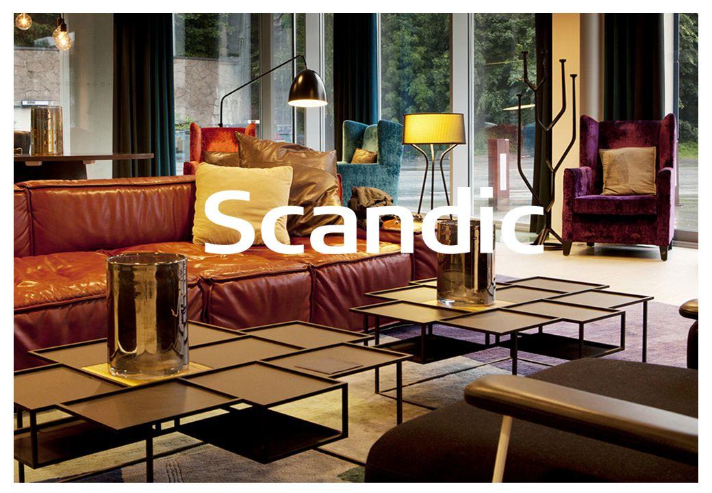 Velkommen til Scand ic Scandic er Nordens største hotellkjede med rundt 230 hotell, i 8 land.