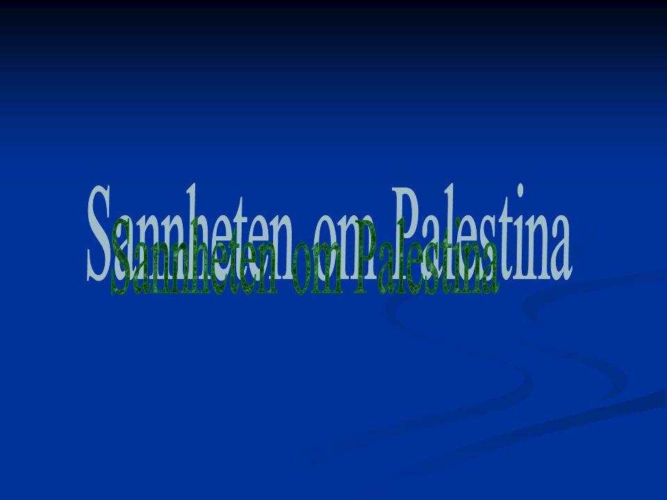 Sannheten om Palestina har rotert 180 grader siden jeg var ung I dag er det den arabiske versjonen vi hører