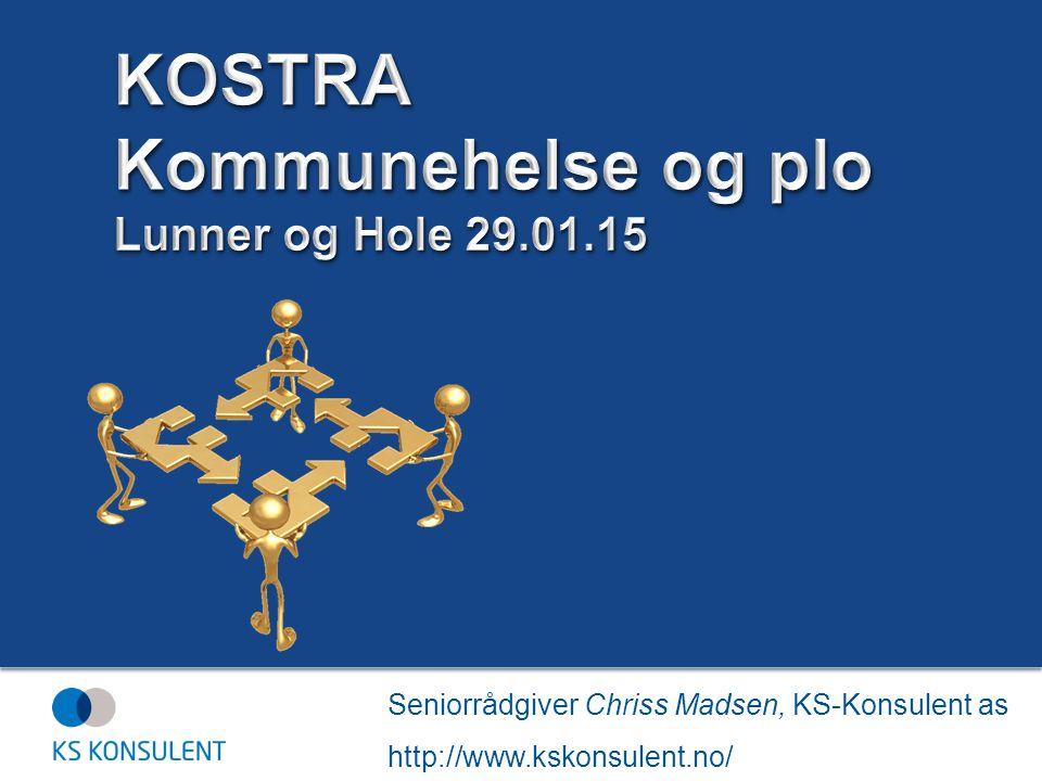 Seniorrådgiver Chriss Madsen, KS-Konsulent as http://www.kskonsulent.no/