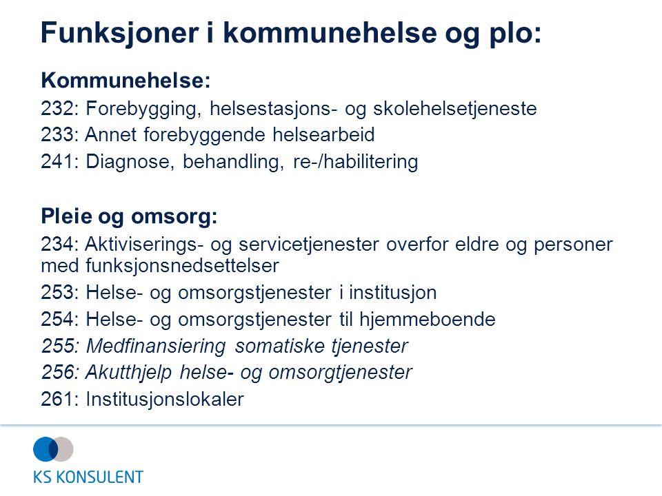 Eksempel: «Andel årsverk i brukerrettede tjenester m/ fagutdanning» Indikatoren uttrykker: Formell kompetanse hos personellet.