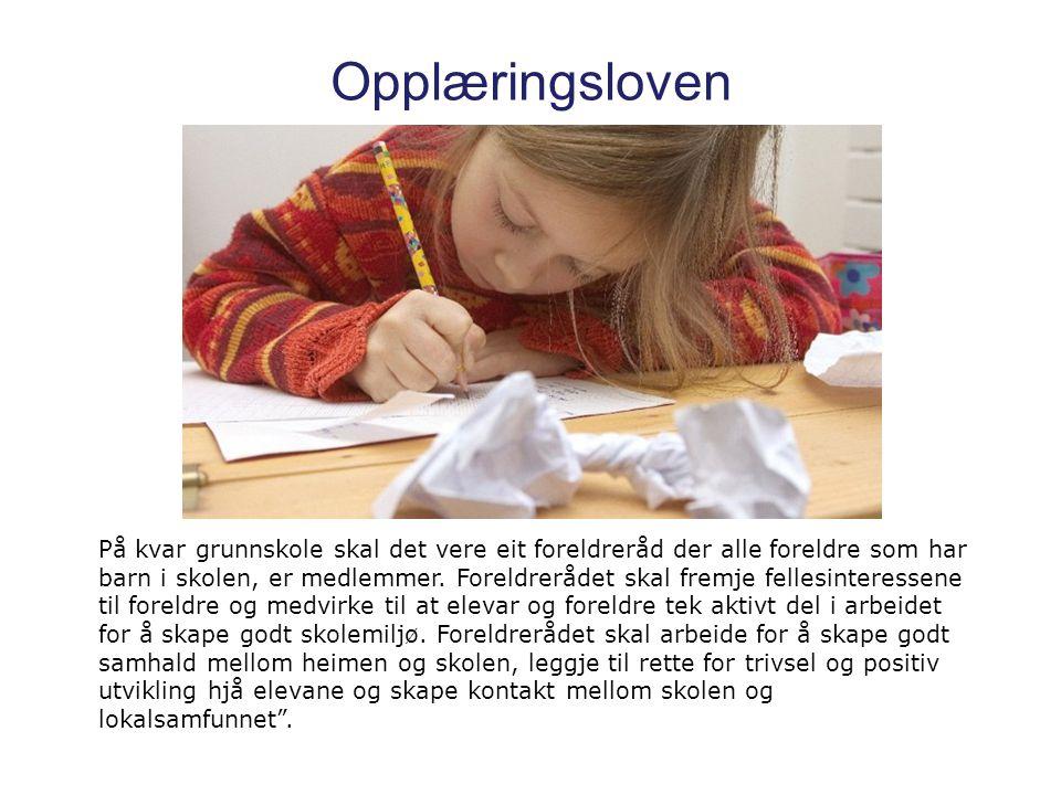 Mandat FAU er foreldrenes samarbeidspartner i arbeidet med å skape et trygt læringsmiljø og trivsel for alle barn på Kjøkkelvik skole.