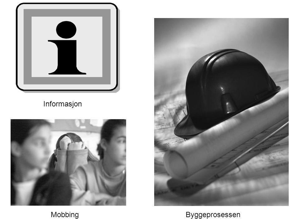 Informasjon MobbingByggeprosessen