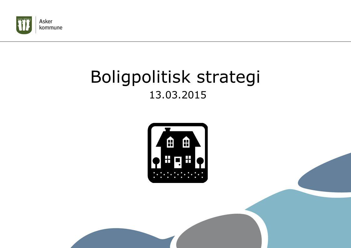 Boligpolitisk strategi 13.03.2015