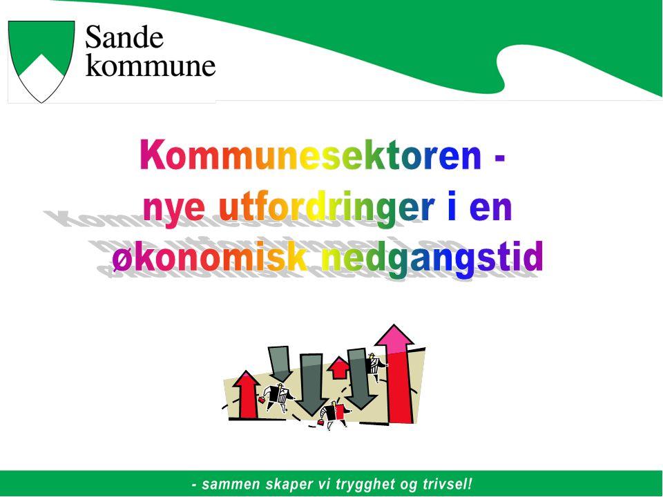Generelle betraktninger Kommunesektoren skal legge til rette for gode liv for innbyggerne i det lange løp.