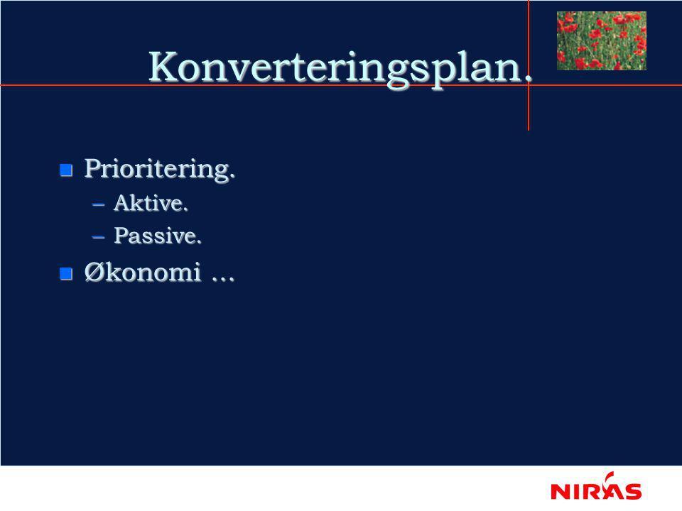 Egenskabsanalysen.n Anvendelse. n Oprindelse. –Målt/Beregnet/Skønnet.