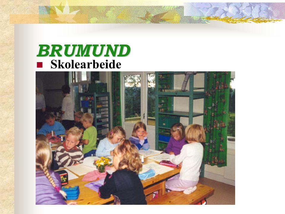 BRUMUND Skolearbeide
