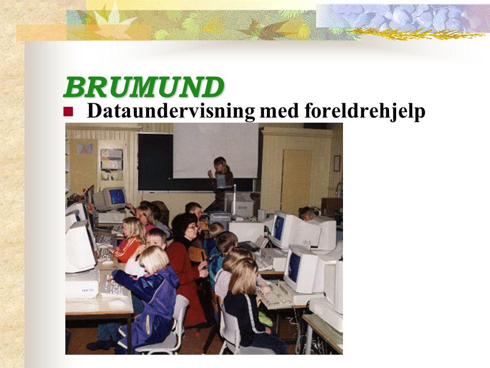 BRUMUND Dataundervisning med foreldrehjelp