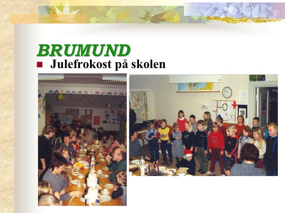 BRUMUND Julefrokost på skolen