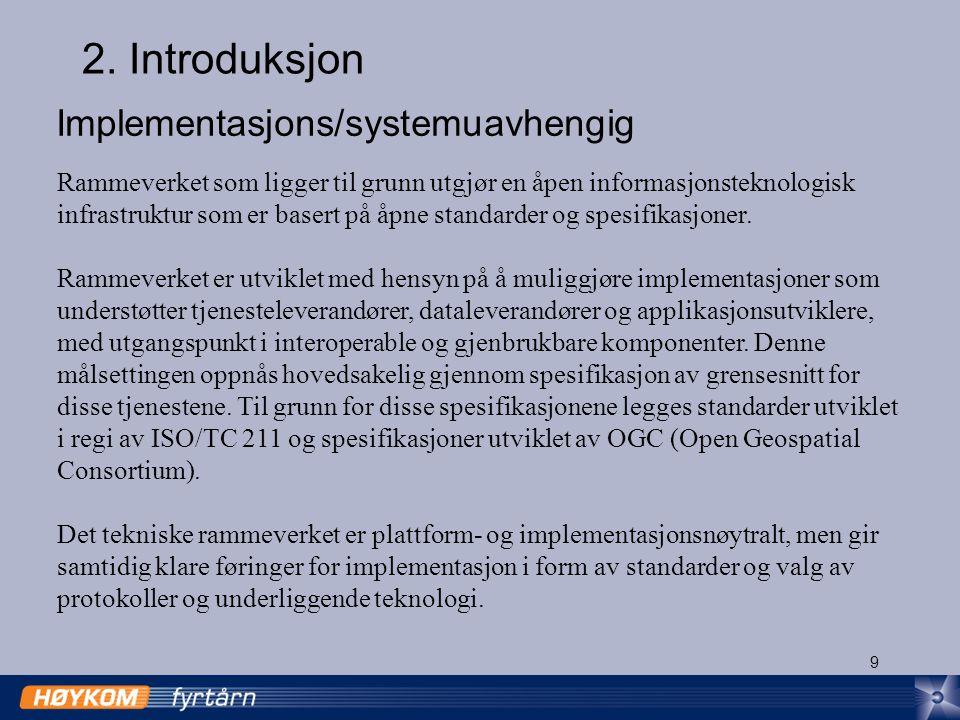 10 Plattform- og implementasjonsnøytralitet