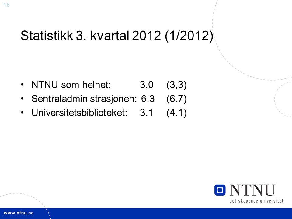 16 Statistikk 3.