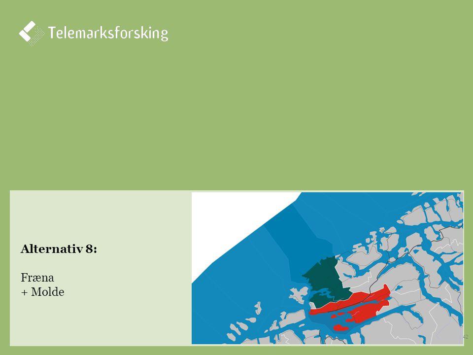 Alternativ 8: Fræna + Molde 42