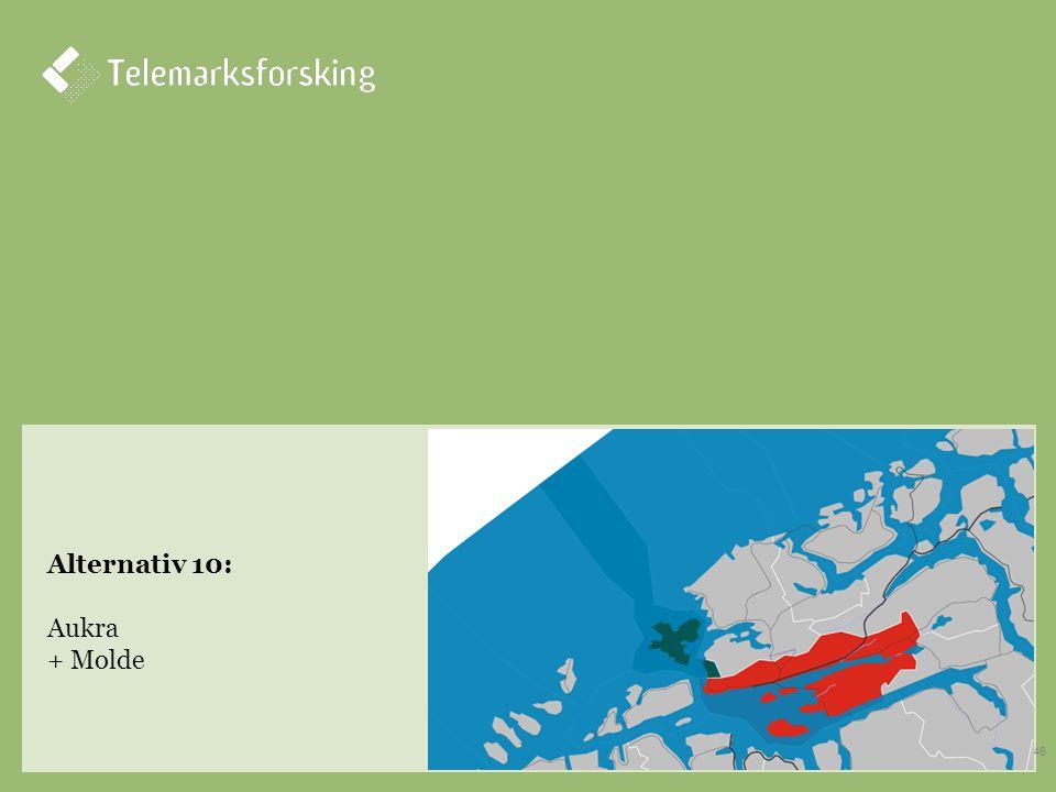 Alternativ 10: Aukra + Molde 46
