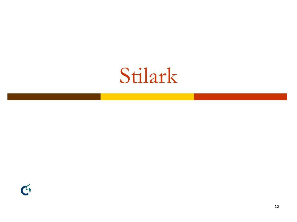 12 Stilark