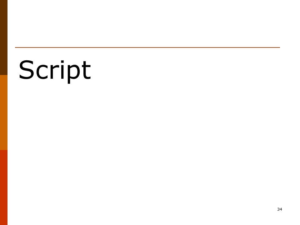 34 Script