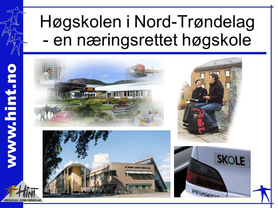 www.hint.no Høgskolen i Nord-Trøndelag - en næringsrettet høgskole