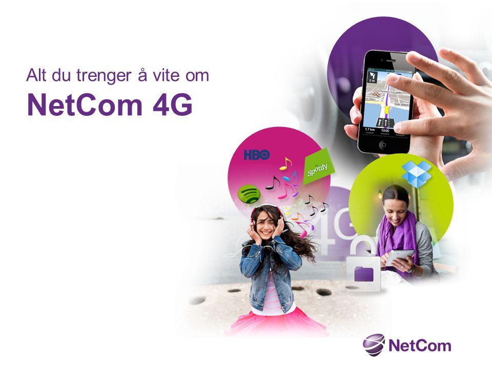 NetCom var først i verden med 4G.