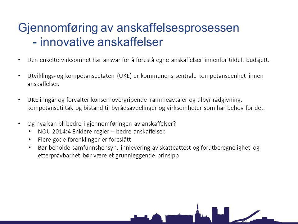Hva gjør Oslo kommune.