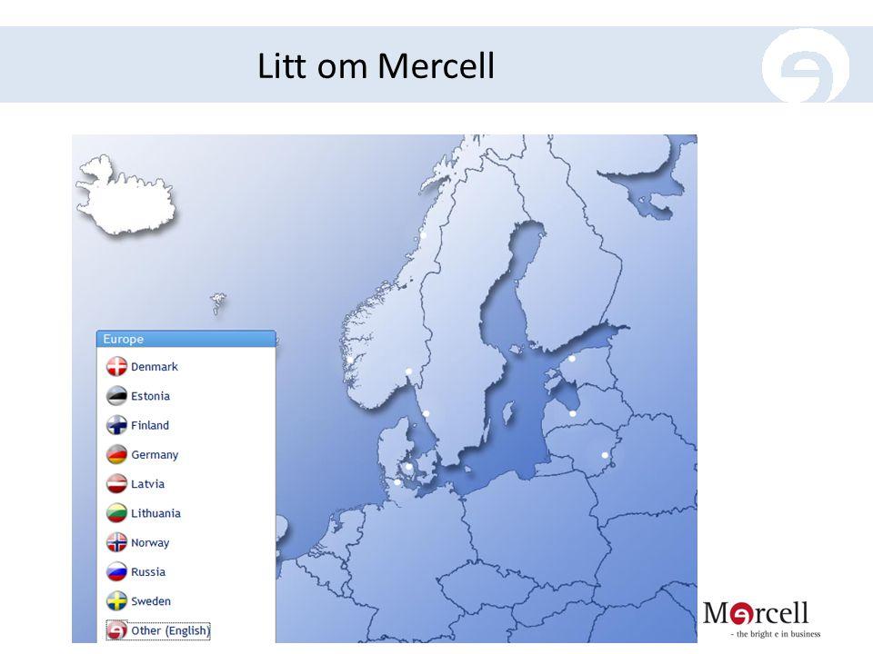 Litt om Mercell