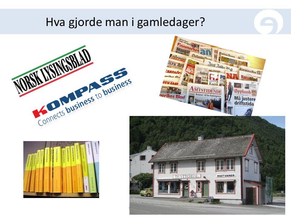 Norsk lysingsblad er no ein rein elektronisk publikasjon.