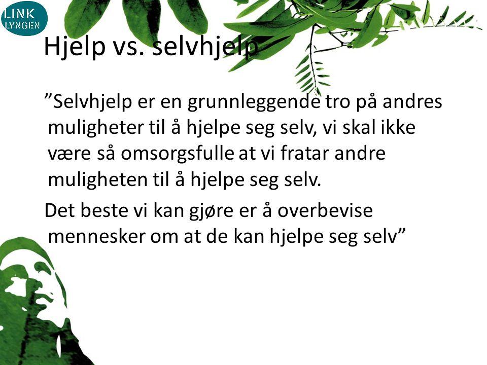Hjelp vs.