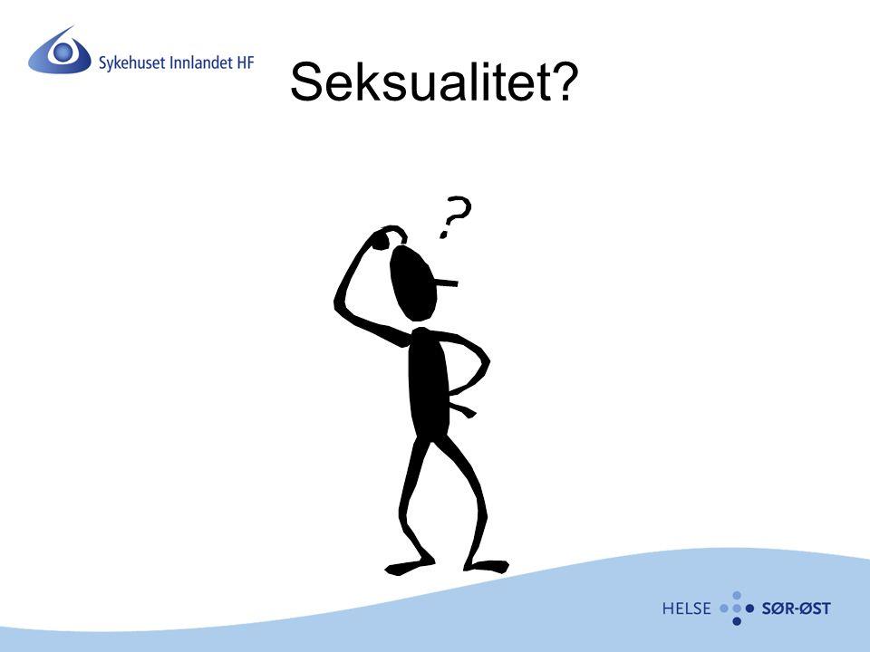 Seksualitet?