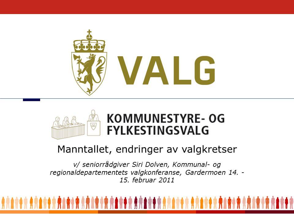 1 v/ seniorrådgiver Siri Dolven, Kommunal- og regionaldepartementets valgkonferanse, Gardermoen 14.